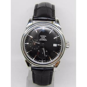Montre OMEGA DE VILLE POWER RESERVE CO AXIAL EN ACIER ref 4832.50.31